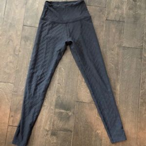 Beyond yoga legging with quilted texture
